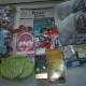 Новогодние подарки, Новогодние шарики, раскраска, карандаши, горошек зеленый, игрушки