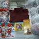 Новогодние подарки, Новогодние шарики, раскраска, карандаши, кубики, кофточка