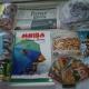 Новогодние подарки, Новогодние шарики,раскраски, карандаши, детская литература