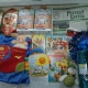 Новогодние костюм спайдермена, сладкие подарки, украшения на елку, литература детская