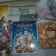 Новогодние подарки, Новогодние шары, печенье, литература детская