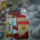 Новогодние подарки, Новогодние шарики, барни, игрушки, валенки