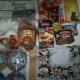 Новогодние подарки,чай, печенье, сладости, тушенка, горошек зеленый, салффетки