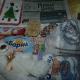 Новогодние подарки, новогодние шары, сладости, игрушка