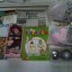Новогодние подарки, игрушки елочные, средства личной гигиены, раскраски