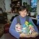 Новогодние подарки детям, смесь для малыша      6 шт., овощная смесь 1 уп.,вещи женские, детские, школьные принадлежности, танометр,набор посуды детской 1 шт.,