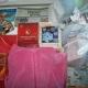 Новогодние подарки,литература детская, наклейки, постельное белье, спортивный костюм