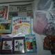Новогодние подарки, книжечки развивающие,вышивка, игрушки