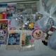 Новогодние подарки, игрушки, фломастеры, лего
