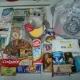 Новогодние подарки, средства личной гигиены, влажные салфетки, сладости, чай, кофе, игрушки