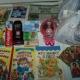 Новогодние подарки, литература детская, игрушки, раскраски, средства личной гигиены