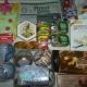Новогодние подарки, Новогодние шарики, ананасы, шпроты, сладости, сувениры