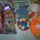 Новогодние подарки, игрушки, белье, носки, погремушки