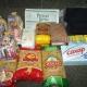 Новогодние подарки, продукты - гречка, макароны, рис, сахар, манка, сгущеное молоко, брюки, бриджы, мыло
