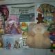 Новогодние подарки, игрушки, блокноты, литература
