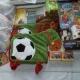 Новогодние подарки, ананасы, икра трески, паста шоколадная, сахар, чай, литература детская, игрушки