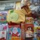 Новогодние подарки, печенье, чокобой, паштет, кукуруза, какао, шоколадка, литература детская, раскраска