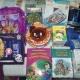 Новогодние подарки деткам,бальзам, мед, набор вышивать бисером, заколки, шапка, литература детская, игра, новогодние ишрушки