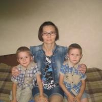 Семья Нутрихиных, Вологодская область, 2 детей