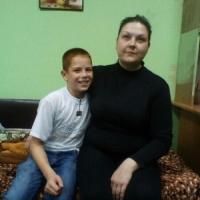 """Ольга с сыном Ильей (проект """"Дом Милосердия"""")"""