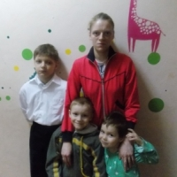 Светлана Ж. и 3 детей (проект профилактика соц сиротства)