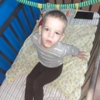 Марк 5 лет, сирота из Екатеринбурга, инвалид. Приехал на обследование и лечение.