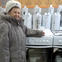 Галина Дмитриевна выбрала новую плиту