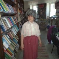 Галина Дмитриевна нарядилась в новую шапку