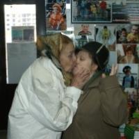 любимая доченька, всегда малышка для мамы....