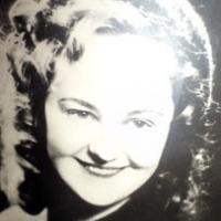 Тамара Александровна  в молодости