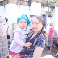 Семья Поповых: мама Наталья с дочкой Настей